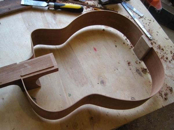 Гитара сделанная своими руками 610